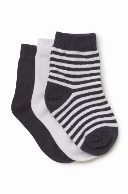 Boys 3 Pack Knitted Socks