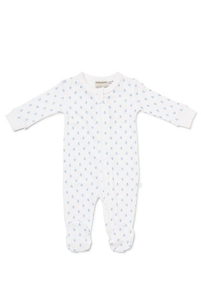 Boys Zip Growsuit