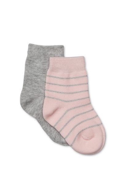 Girls 2 Pack Knitted Socks