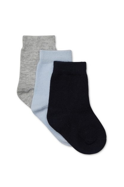 3 Pack Boys Knitted Socks