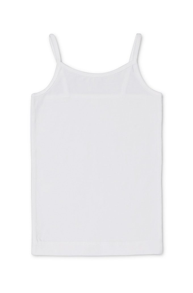 Large Size 2 Pack Girls Singlet