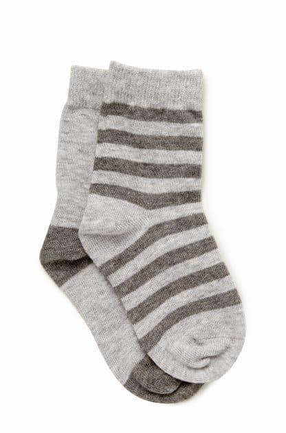 Boys 2 Pack Knitted Socks