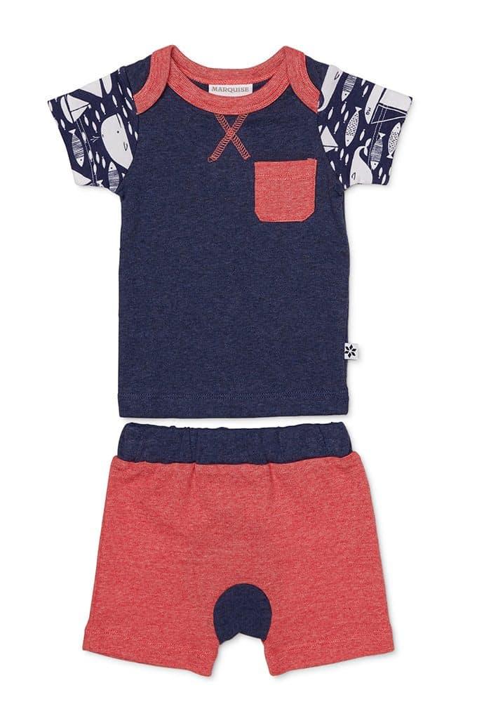 Anchors Away T-Shirt and Shorts