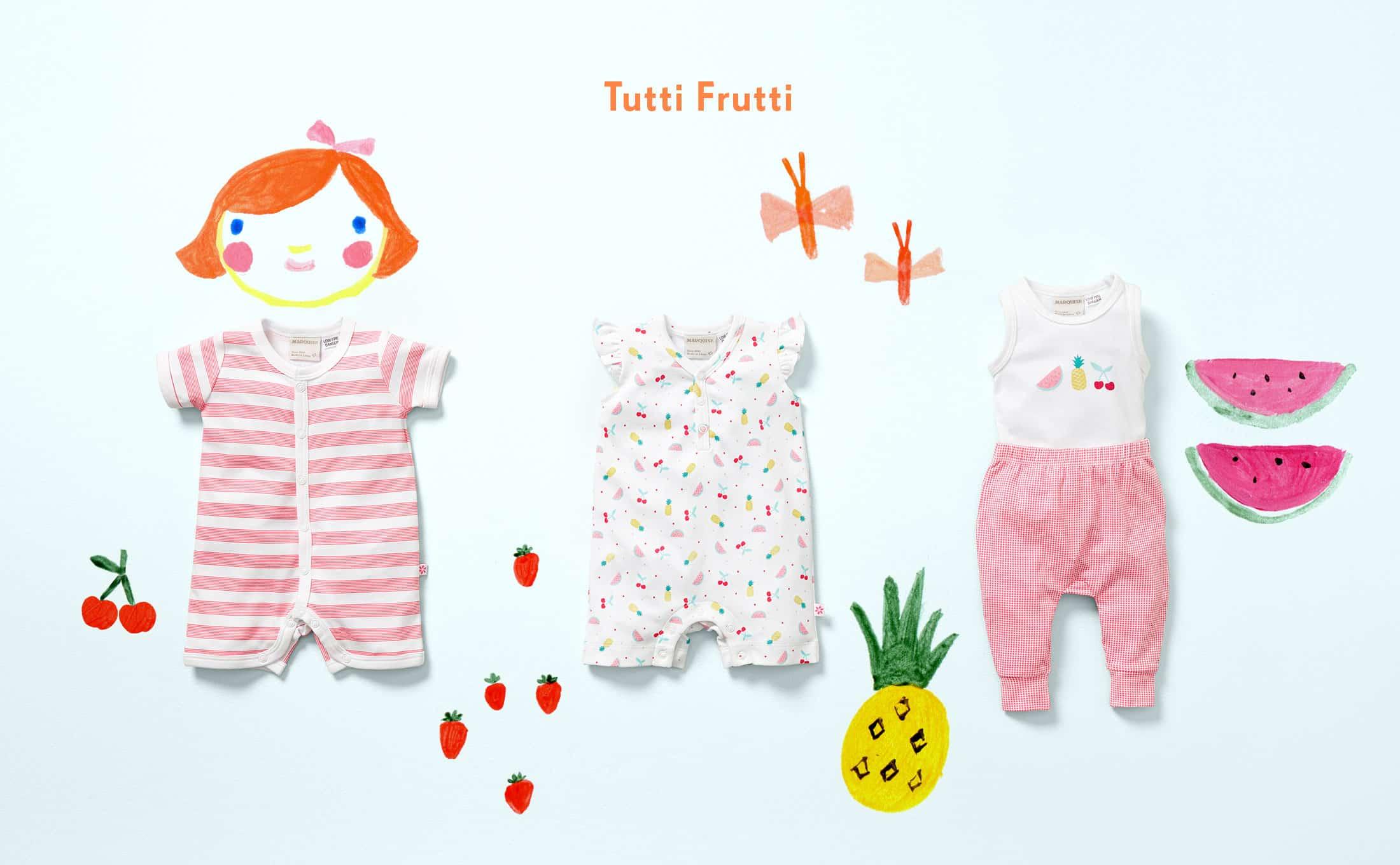 tutti fruitti baby clothes