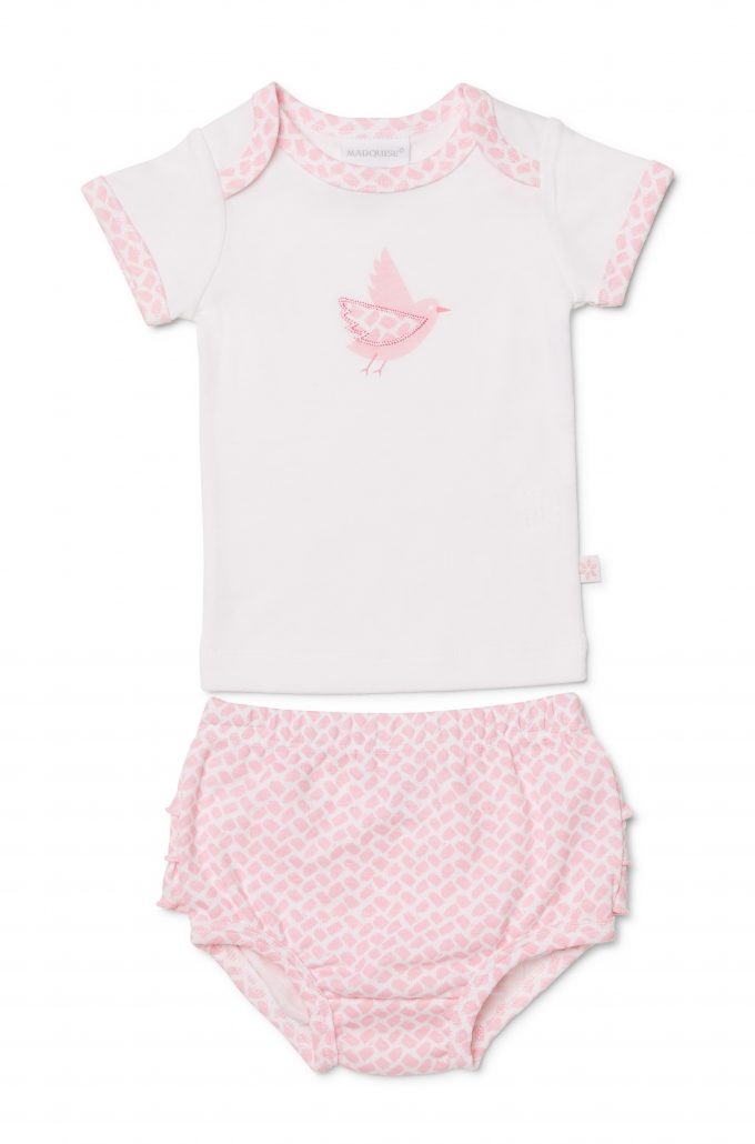 340230c6a Girls T-Shirt and Bloomer Set - Marquise