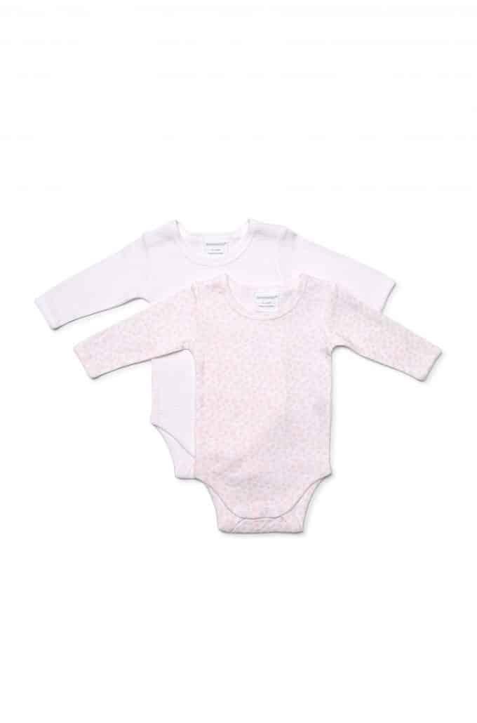 91ec65efb Pink dot stripe girls 2 pack long sleeved bodysuit - Marquise
